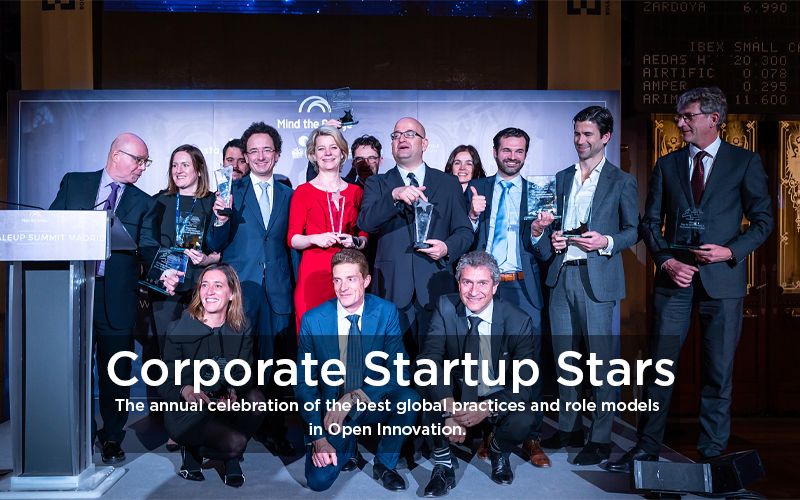 Corporate Startup Stars | The annual celebration of the best global practices and role models in Open Innovation